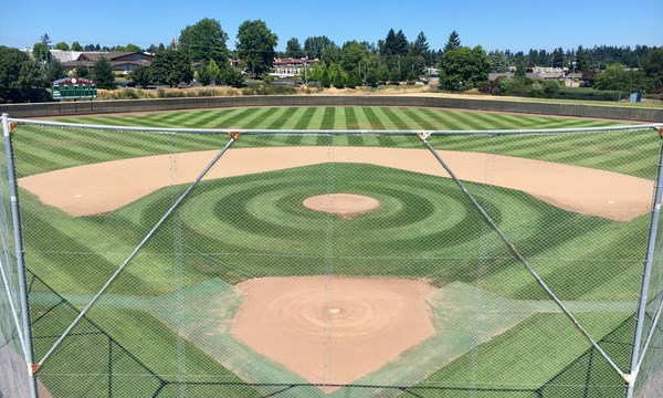 Tacoma community college titans baseball field behind home malvernweather Images